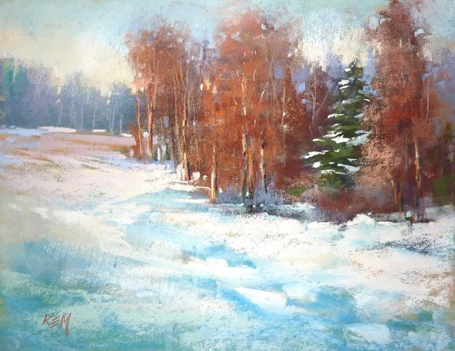 """Do You Have an Icing Pastel?"" original fine art by Karen Margulis"