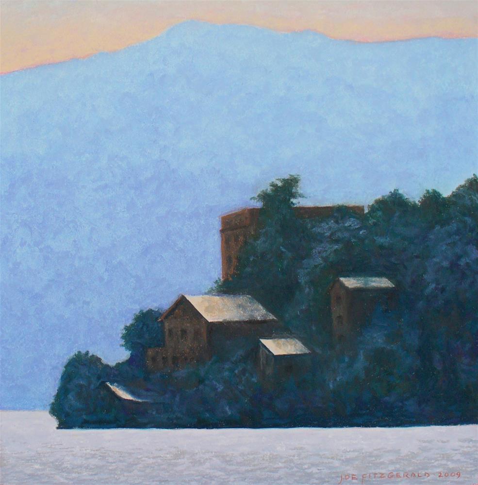 """Isola Madre"" original fine art by Joe Fitzgerald"