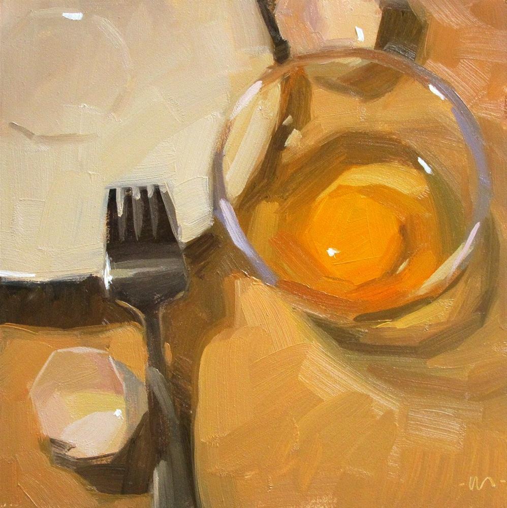 """""""New Year Egg"""" original fine art by Carol Marine"""