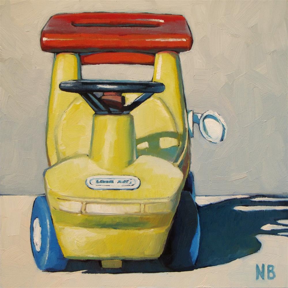 """""""'Fill 'er Up'"""" original fine art by Nora Bergman"""