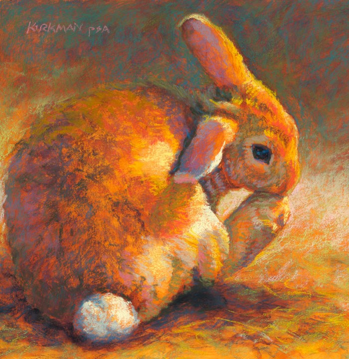 """Ginger Bun"" original fine art by Rita Kirkman"