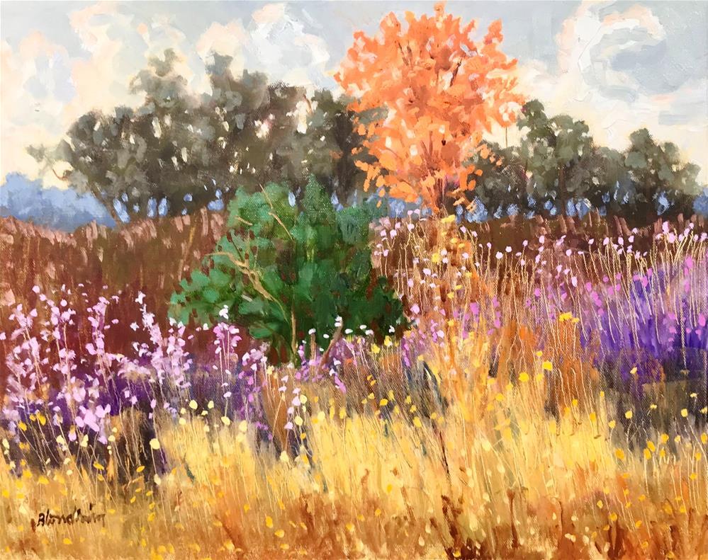 """""""Florida Winter"""" original fine art by Linda Blondheim"""