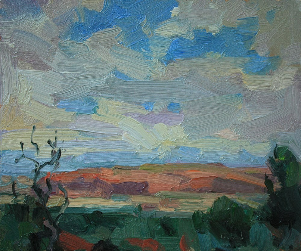 """Toward Moab"" original fine art by Kathryn Townsend"