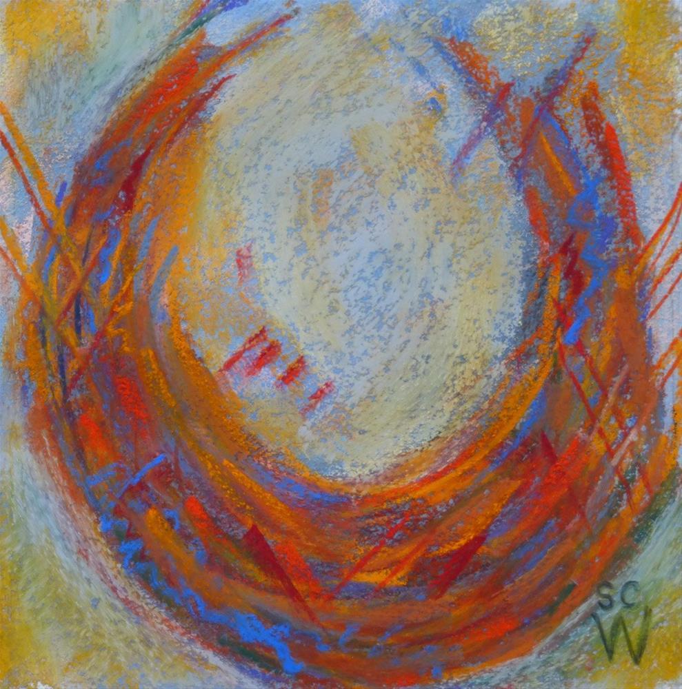 """""""Harvest Basket"""" original fine art by Susan Woodward"""