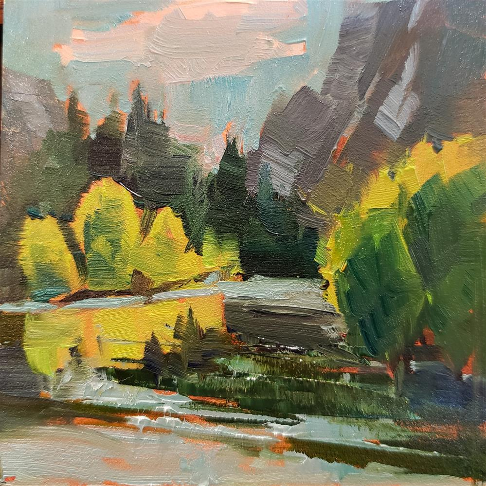 """Yosemite Glow"" original fine art by Barbie Smith"