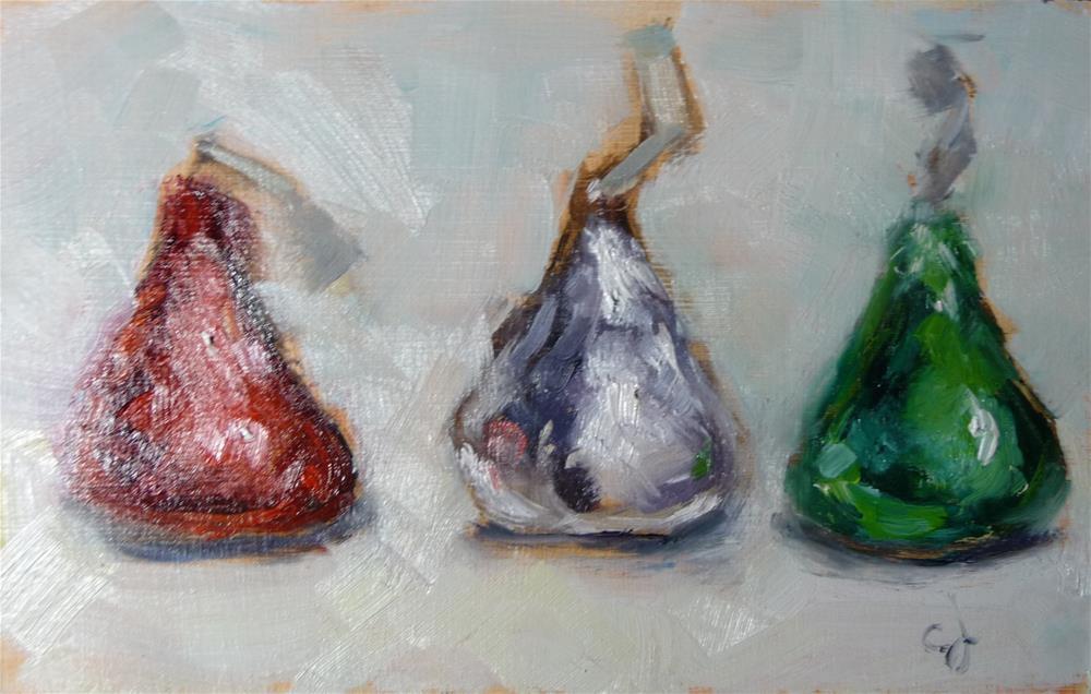 """Triple Crown"" original fine art by Carol Josefiak"