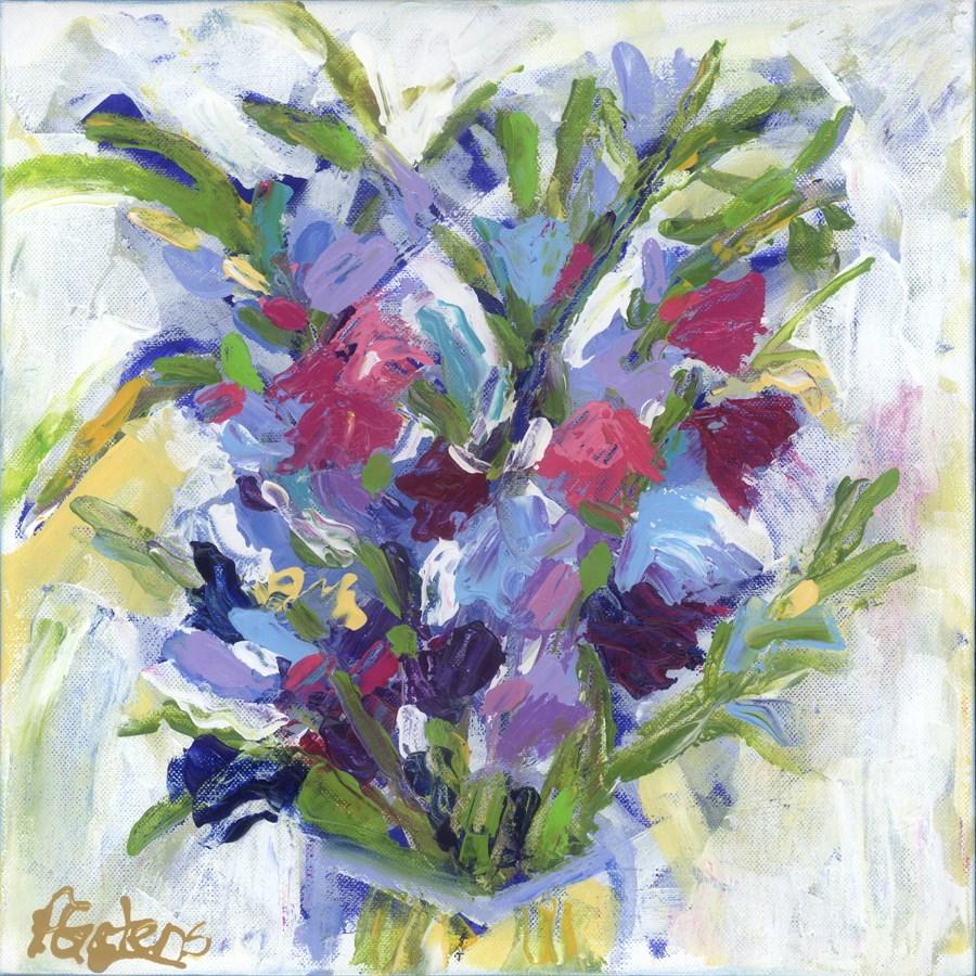 """Summer's Last Bouquet"" original fine art by Pamela Gatens"