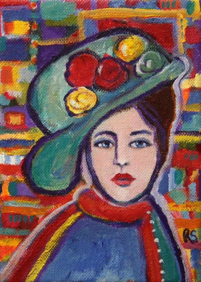 """Clara"" original fine art by Roberta Schmidt"