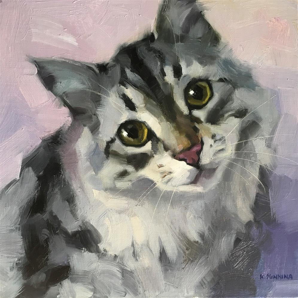 """Adopt327"" original fine art by Katya Minkina"
