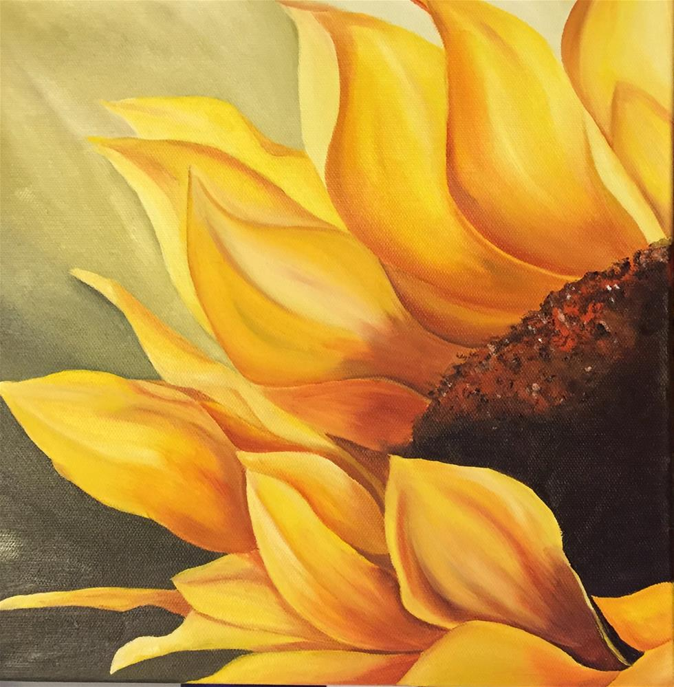 """Sunny side up"" original fine art by Bhavna Sehgal"
