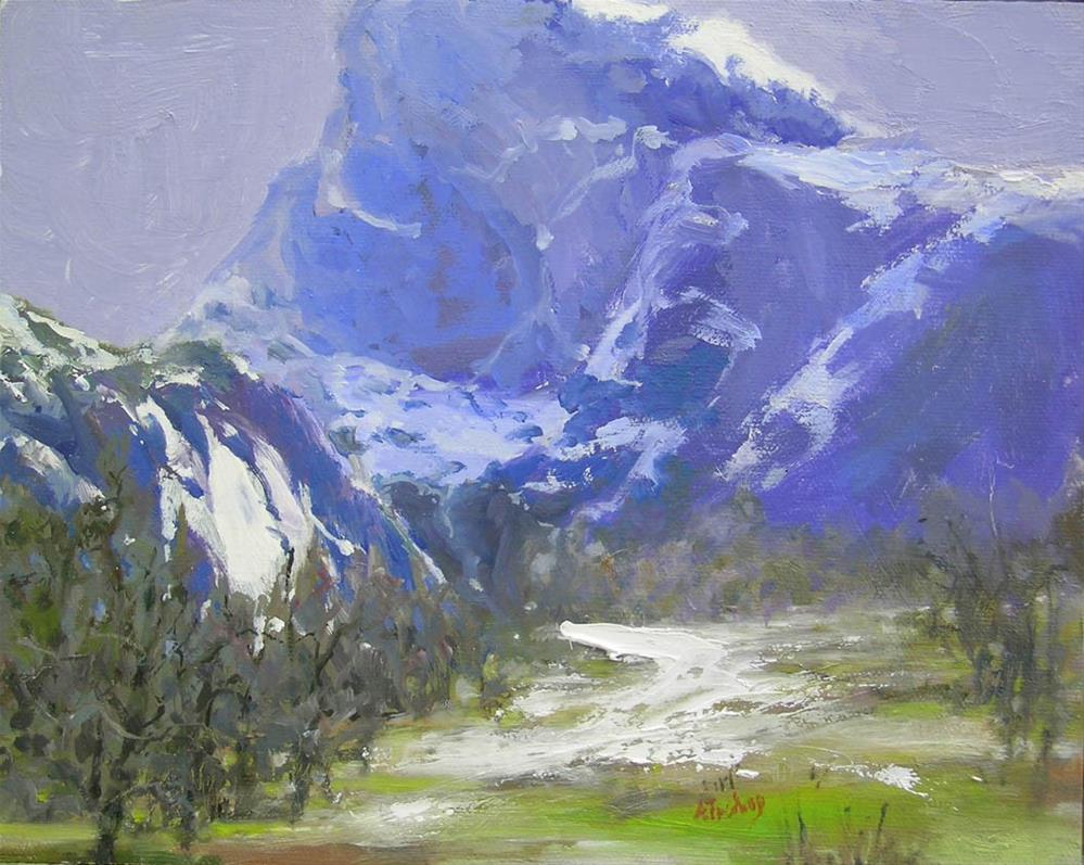 """Approaching Storm, Yosemite"" original fine art by alicia tredway"