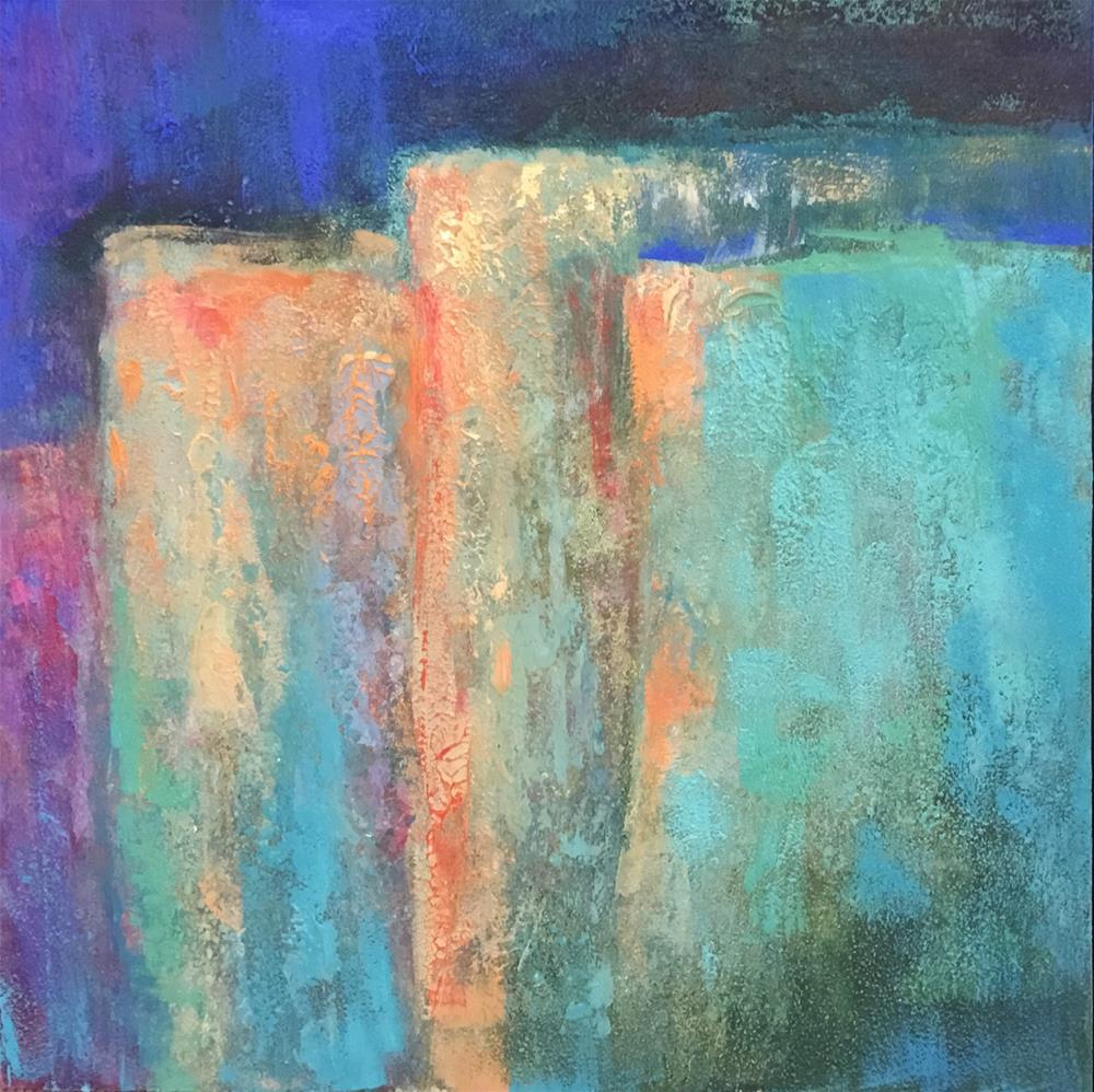 """Layers"" original fine art by Jean Fitzgerald"
