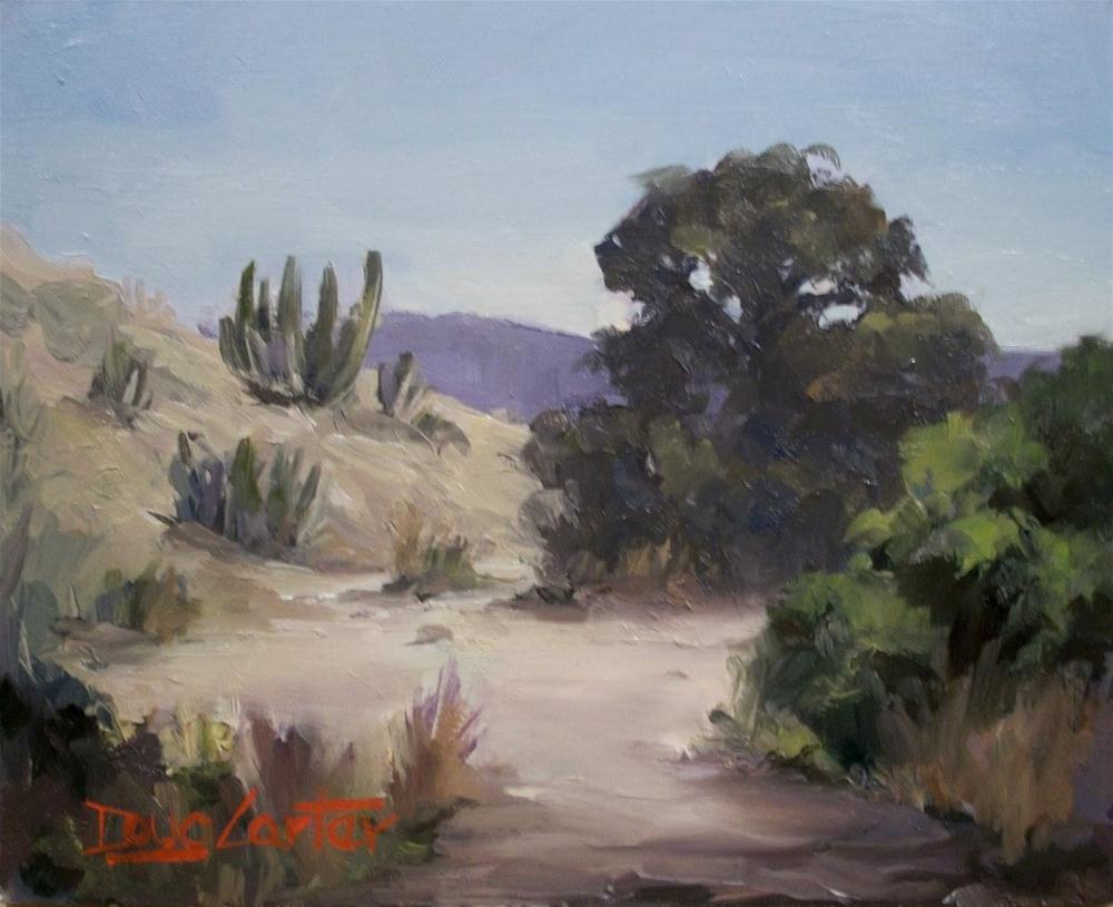 """""""DESERT PASS"""" original fine art by Doug Carter"""
