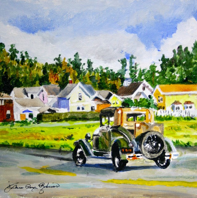 """Old Timer"" original fine art by JoAnne Perez Robinson"