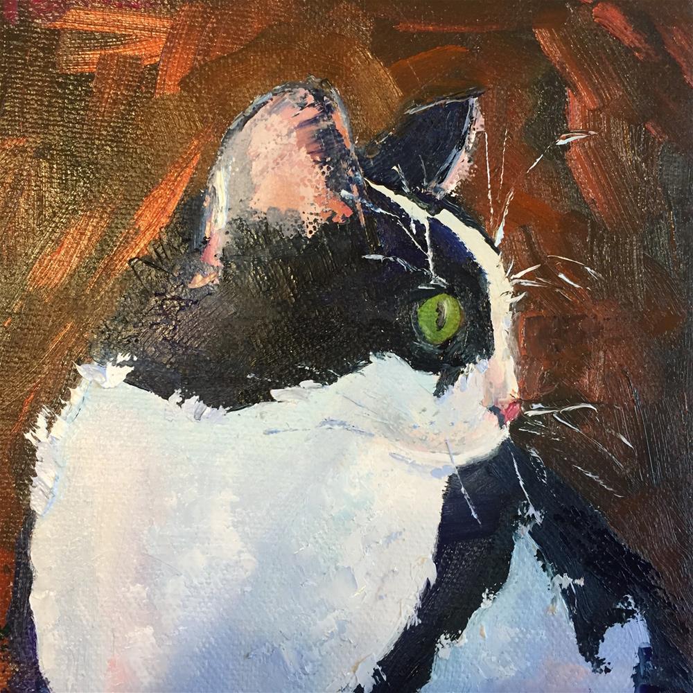 """""""Abby"""" original fine art by Rose Brenner"""