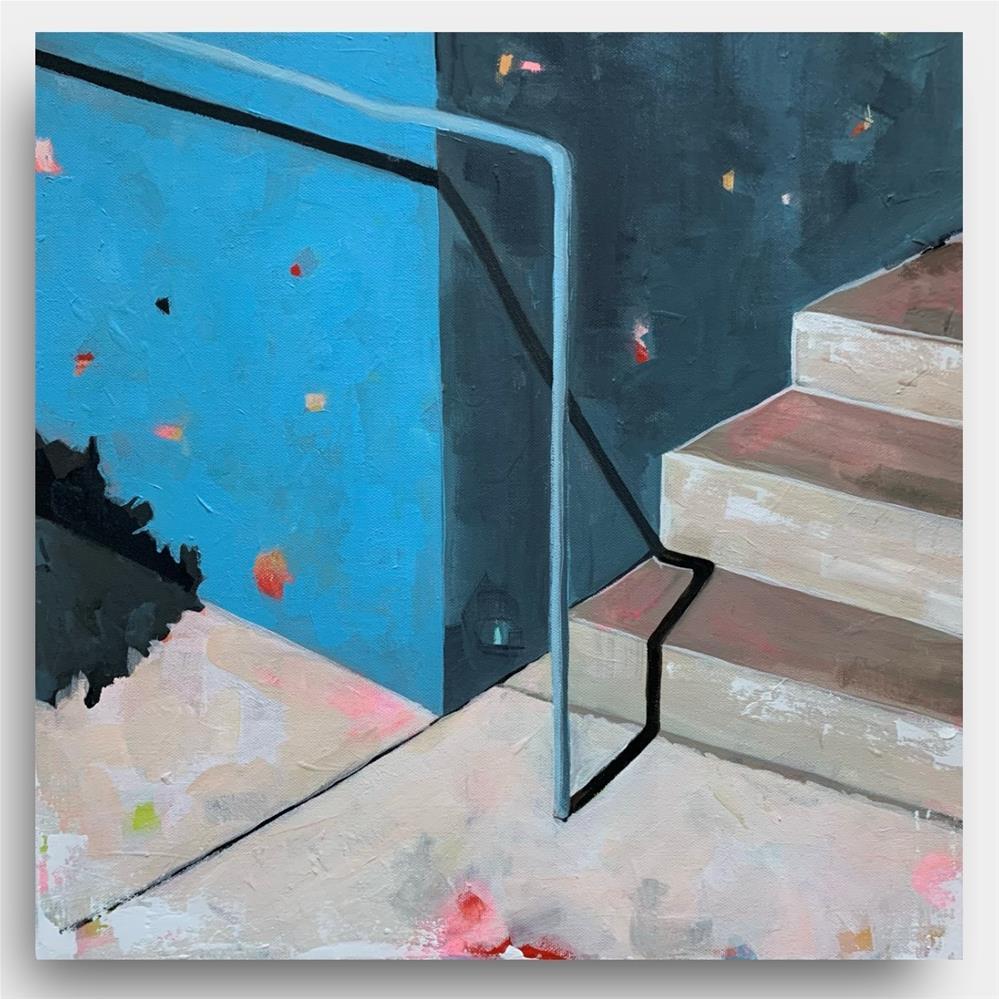 """""""874 Steps"""" original fine art by Jenny Doh"""