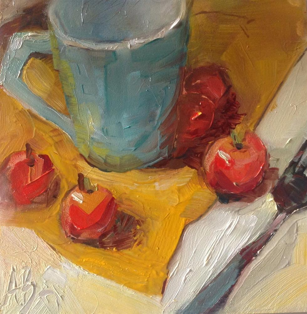 """My first little still life"" original fine art by Annette Balesteri"