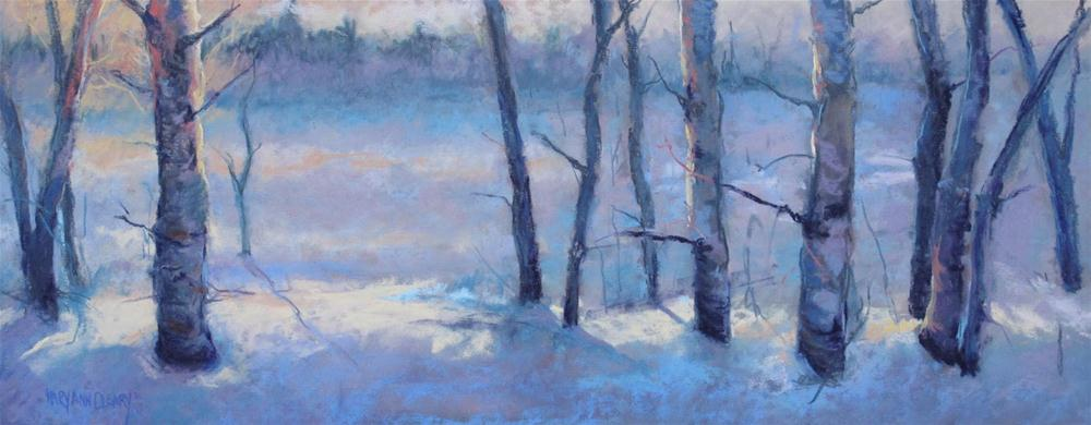 """Morning Delight Dance"" original fine art by Maryann Cleary"