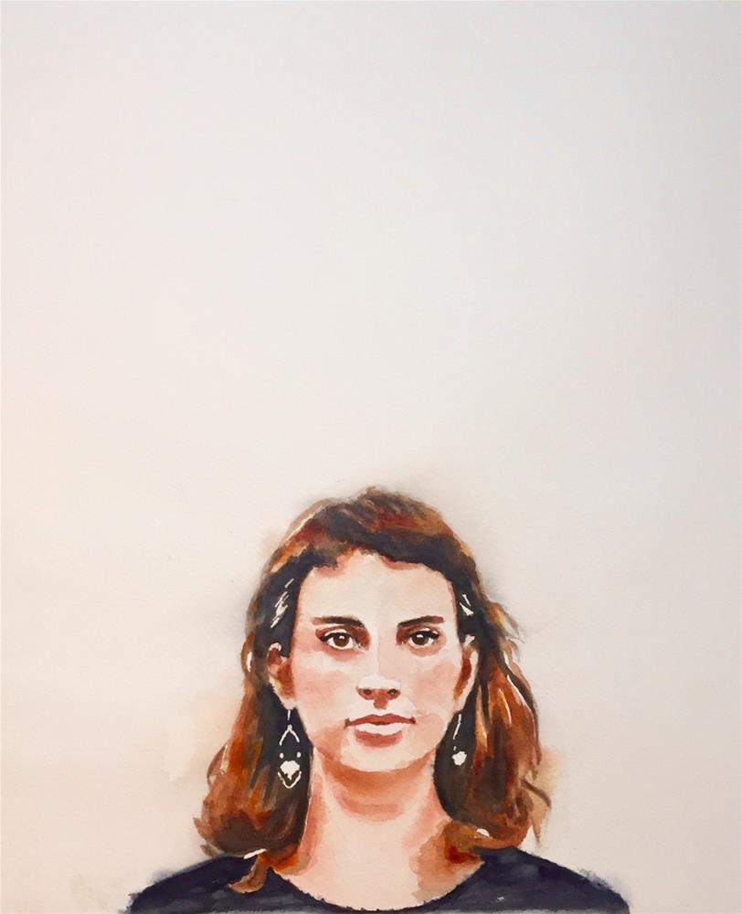 """""""Kathryn"""" original fine art by Melissa Gresham"""
