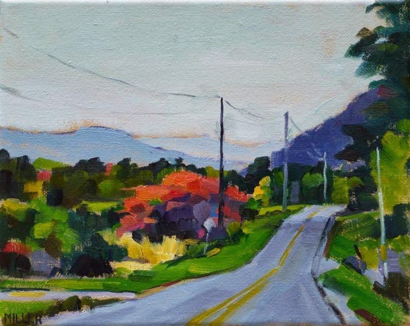"""""""Bovina No. 3"""" original fine art by Jessica Miller"""