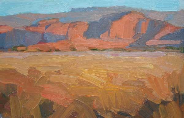 """Last LIght Escalante"" original fine art by Kathryn Townsend"