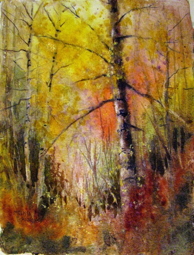 """Woods of Magic"" original fine art by Melissa Gannon"