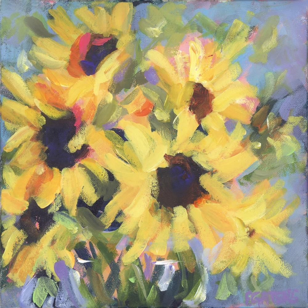"""Little Bit of Sunshine"" original fine art by Pamela Gatens"