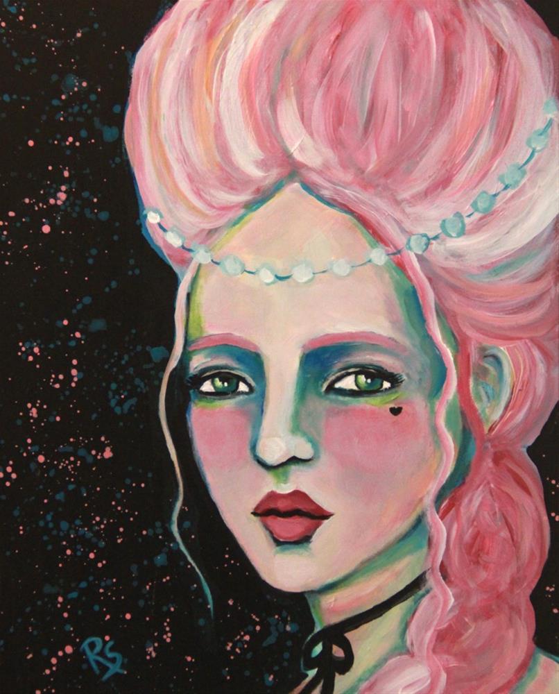 """Isabella Rose"" original fine art by Roberta Schmidt"