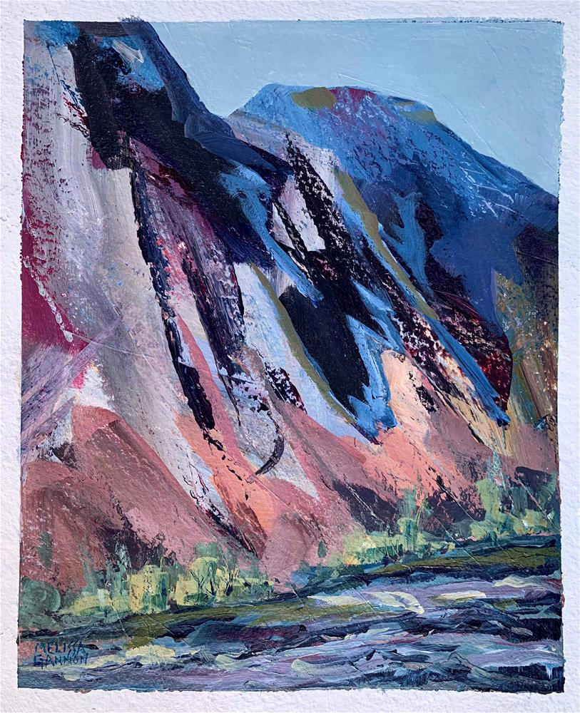 """Canyon Walls"" original fine art by Melissa Gannon"