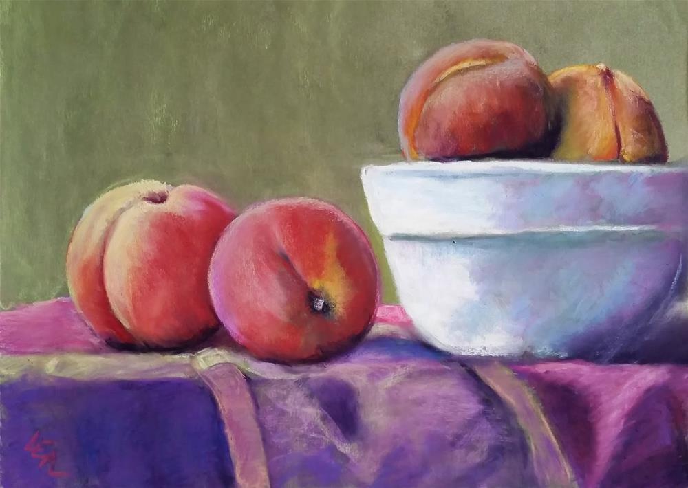 """""""Hill Country Harvest"""" original fine art by Anna Lisa Leal"""