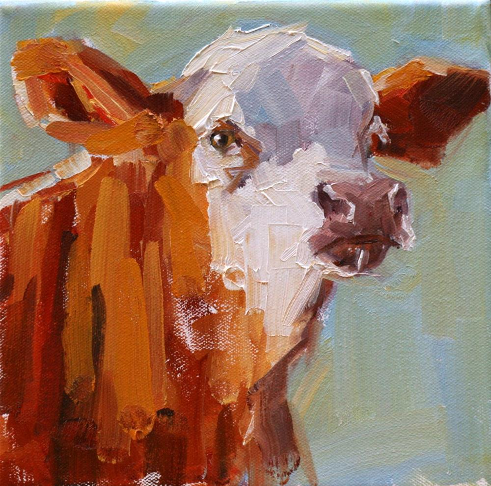 """intrigue"" original fine art by Carol Carmichael"