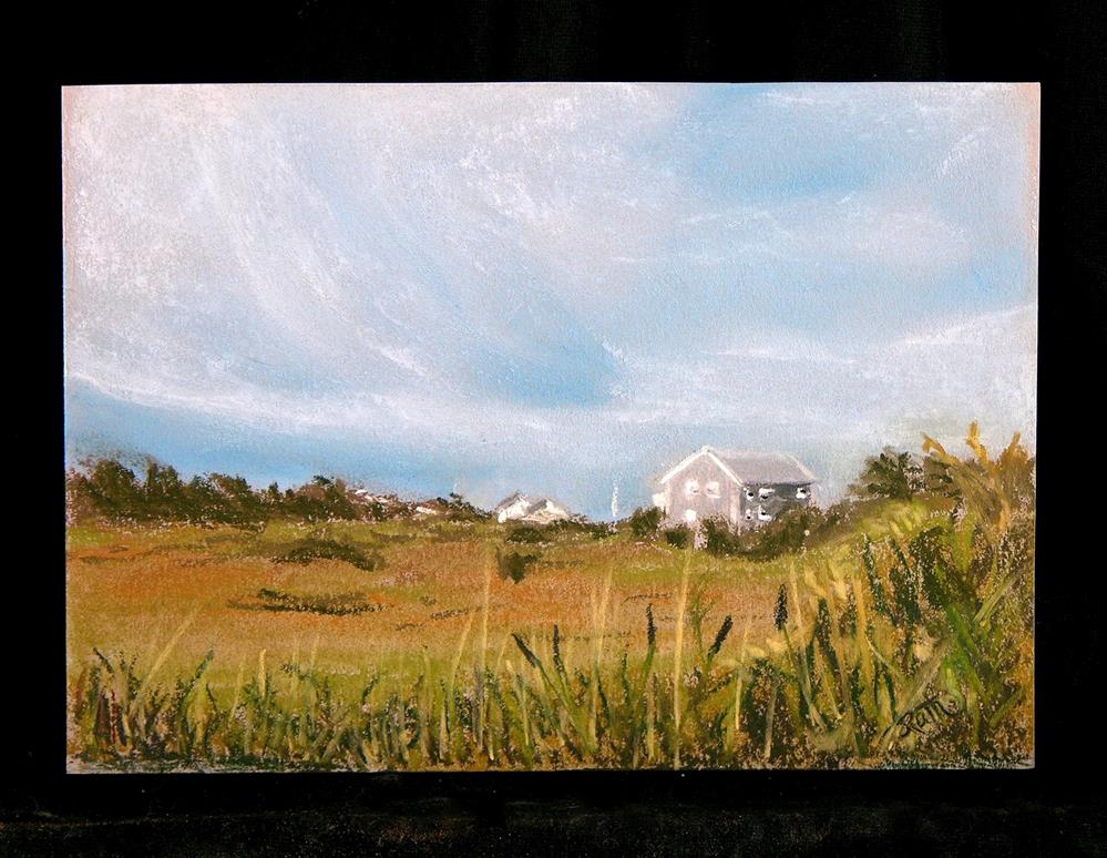 """Soaring Sky"" original fine art by Judy Rath"
