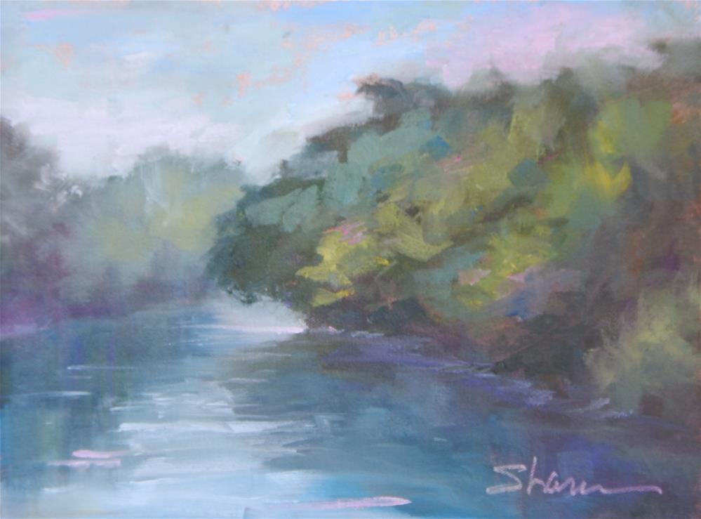 """Serene Lake"" original fine art by Shawn Deitch"