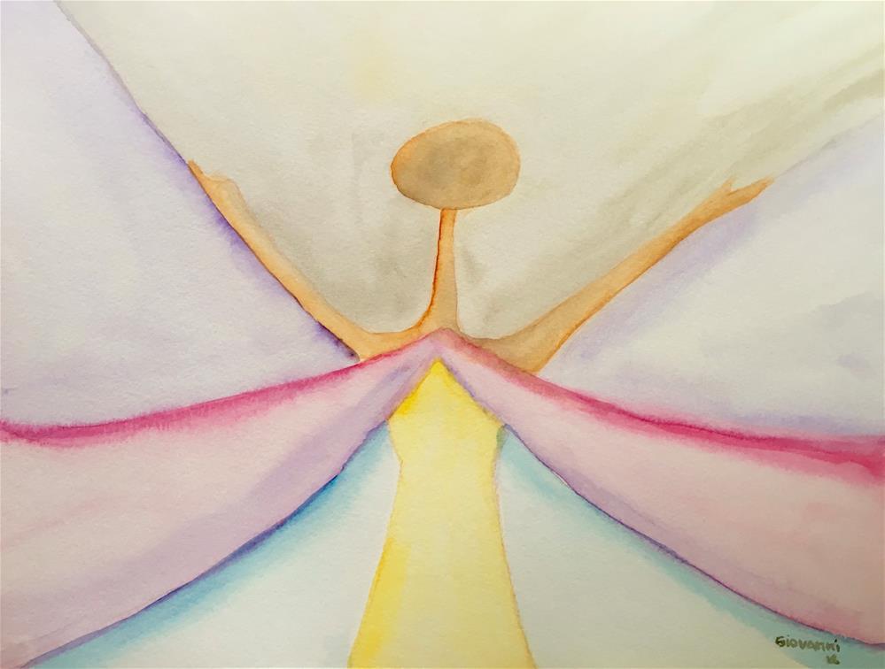 """Butterfly"" original fine art by Giovanni Antunez"