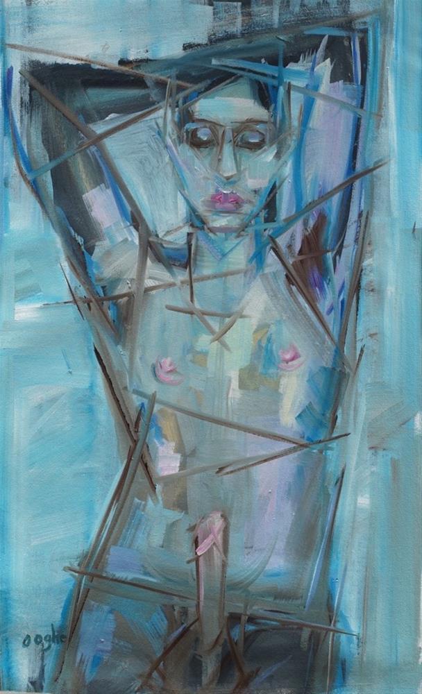 """Dreaming"" original fine art by Angela Ooghe"