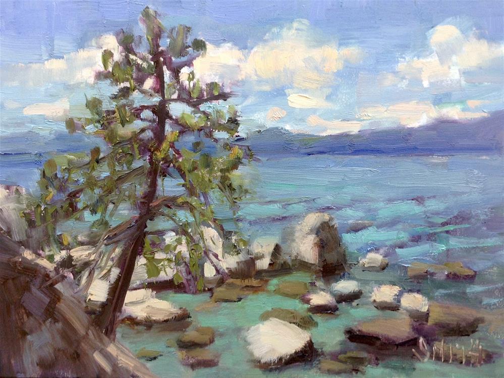 """Tahoe Tranquility"" original fine art by Barbie Smith"