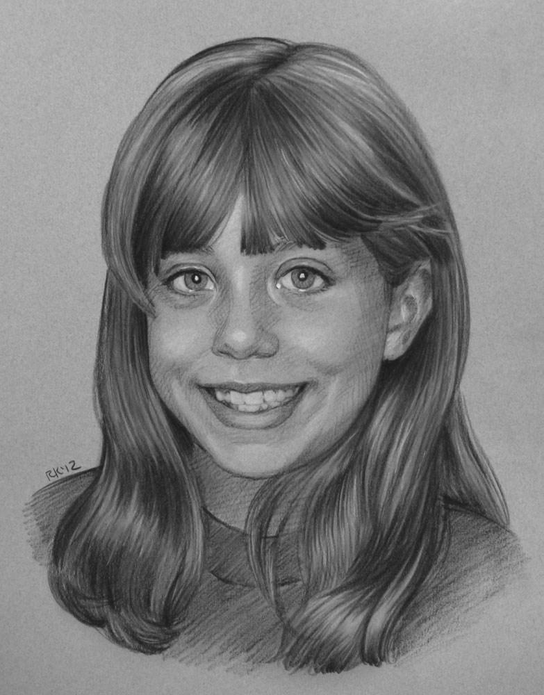 """""""Lauren"""" original fine art by Rita Kirkman"""