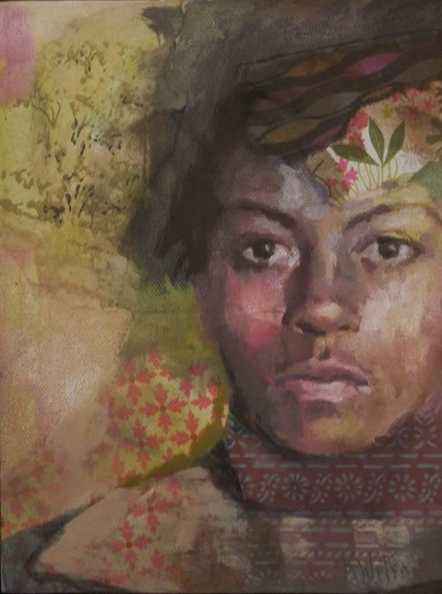 """Lighter Side"" original fine art by Katie Wilson"