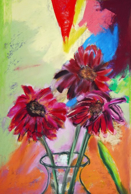 """Ready To Drop"" original fine art by Donna Crosby"
