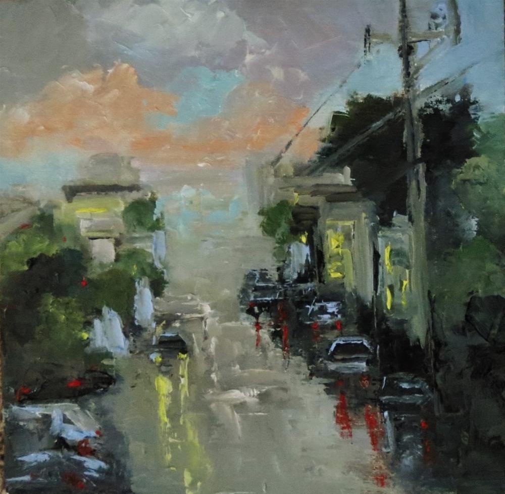 """Early Morning"" original fine art by Astrid Buchhammer"