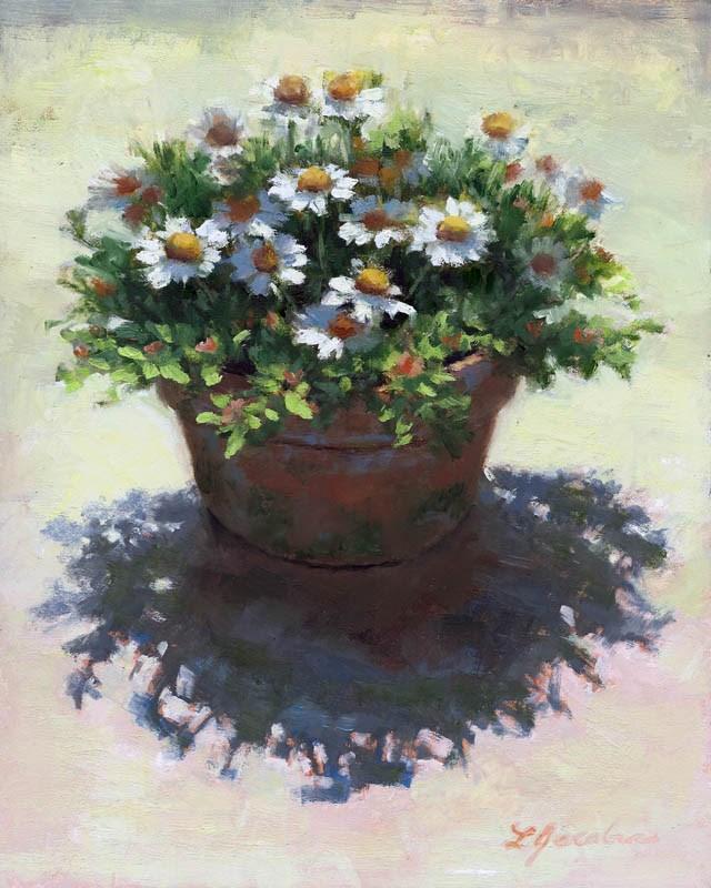 """Shadows of the Mayweed"" original fine art by Linda Jacobus"