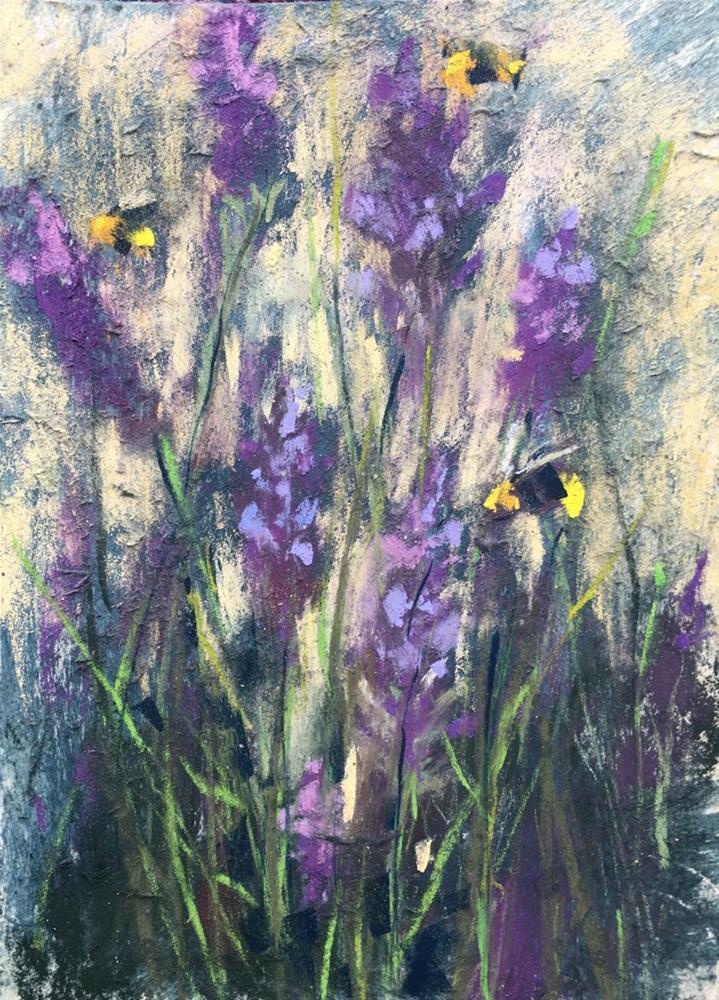 """Painting Ireland Day One"" original fine art by Karen Margulis"