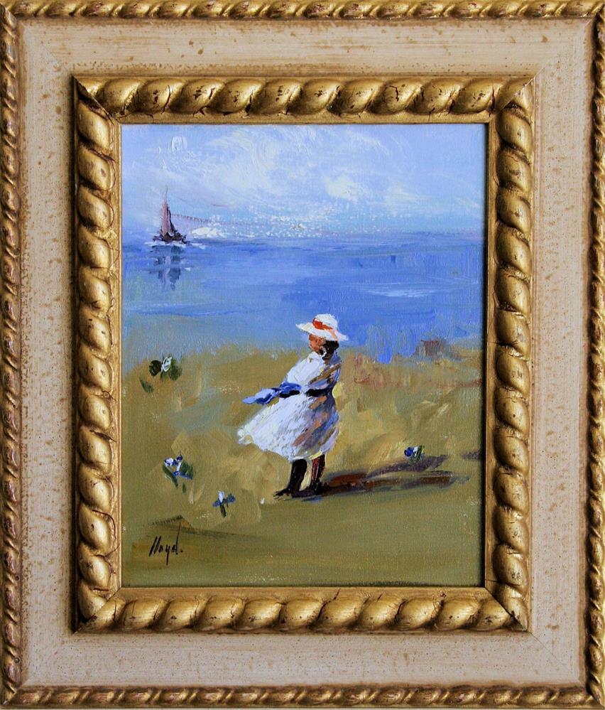 """""""By the Sea"""" original fine art by Diane Lloyd"""
