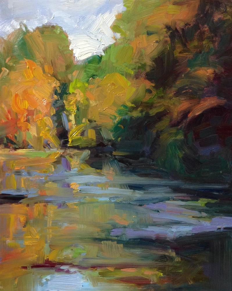 """Confluence Colors"" original fine art by Patti McNutt"