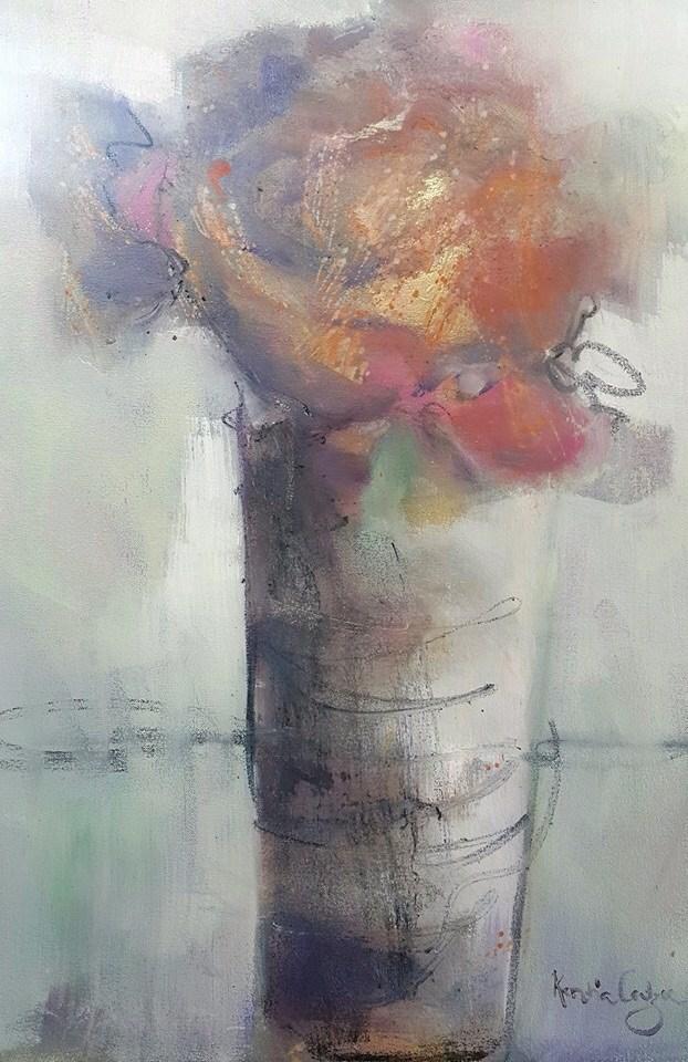 """Touch of gold"" original fine art by Rentia Coetzee"