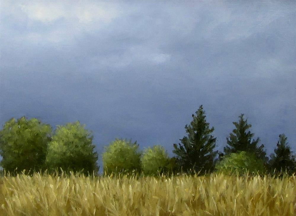 """Before the Storm"" original fine art by Karen Johnston"