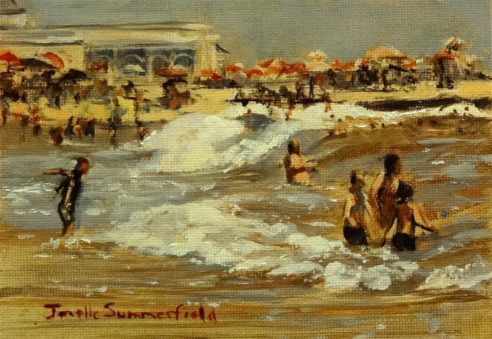 """""""Cape May Study II"""" original fine art by Jonelle Summerfield"""