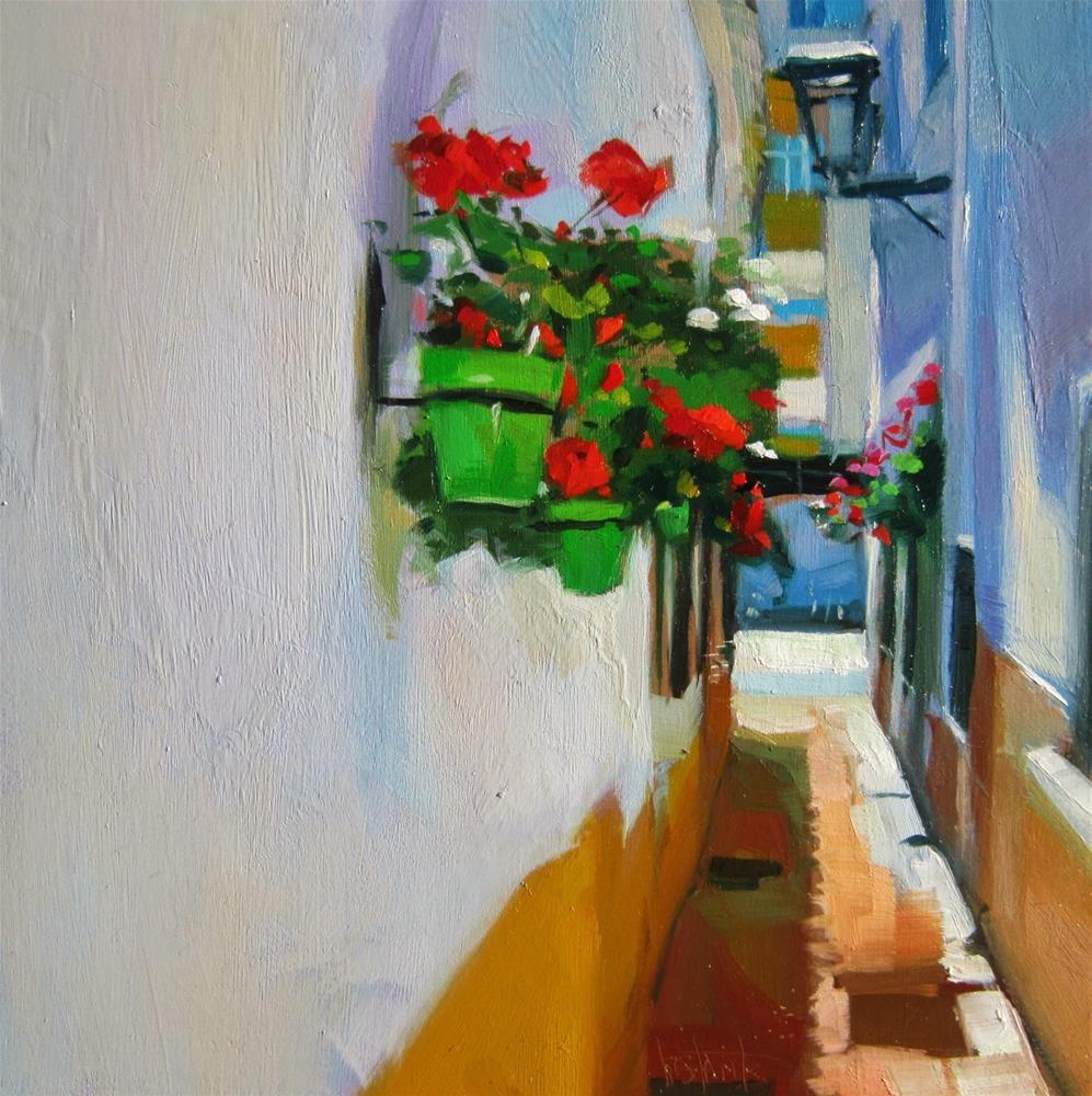 """Pot wall"" original fine art by Víctor Tristante"