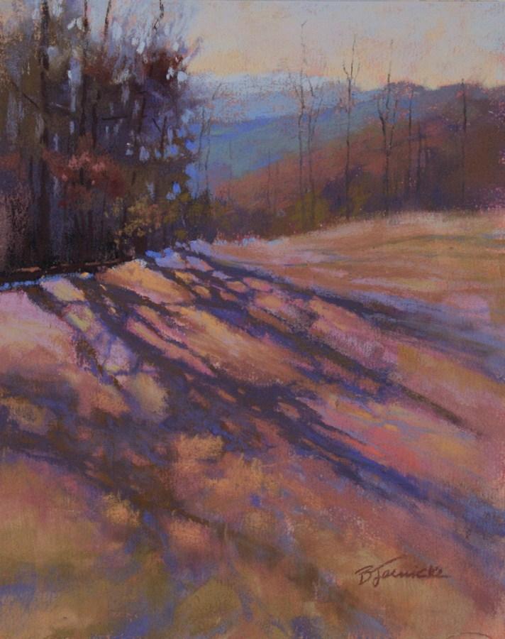 """The Mountains Are Calling"" original fine art by Barbara Jaenicke"