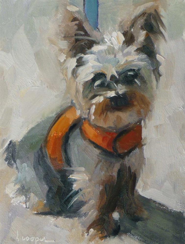 """""""Beckham"""" original fine art by Dana Cooper"""